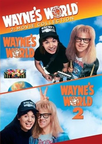 Wayne's World 2-Movie Collection DVD New
