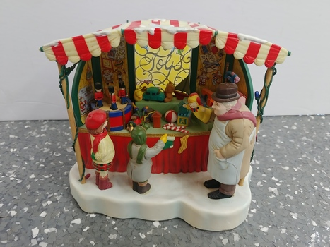 "Enesco Vintage ""Parade Of The Wooden Soldier"" Animated Musical Christmas Decoration"