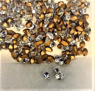Swarovski Oval Crystals 200 Plus