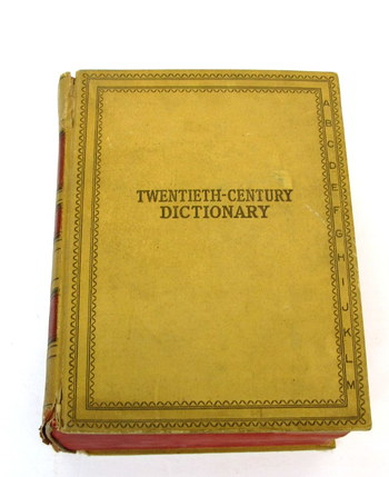 Webster's Twentieth Century Dictionary of The English Language- 1936