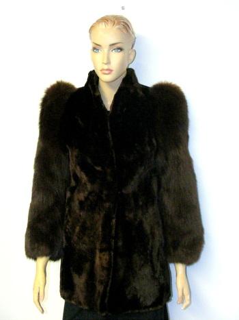 Women's Fox & Beaver Jacket  S