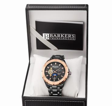 NEW Barkers Of Kensington Luxury Men's Watch Retail $725.00 NEW LONDON LAST ONE ON STOCK