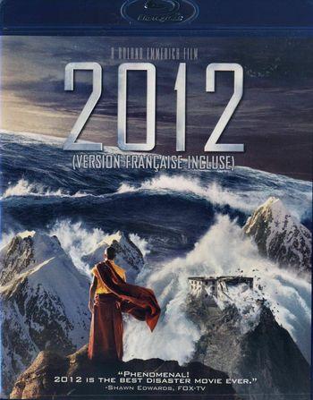 2012 Blu-ray DVD 2010 Bilingual