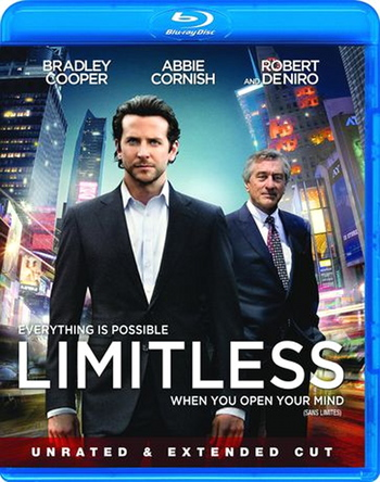 Limitless Unrated & Extended Edition Blue-ray Bilingual