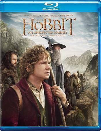 The Hobbit An Unexpected Journey Bilingual Blu-ray DVD