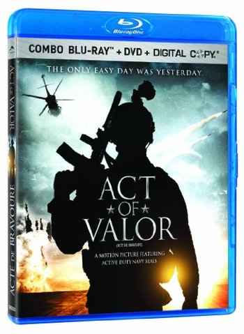 Act of Valor Blu-ray + DVD + Digital Copy Bilingual