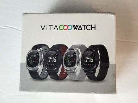 Vita Watch Premium Smart Watch Full Featured Personal Health Assistant