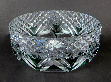 Vintage Val Saint Lambert Crystal Fruit Bowl