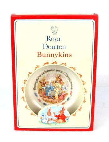 "Vintage Royal Doulton Bunnykins ""Celebrate your Christening"" 1994"