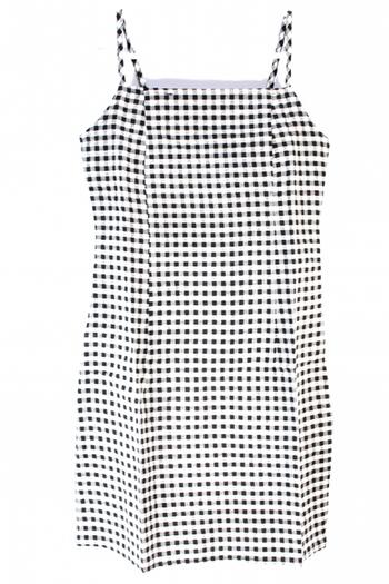 Ladies Checkered Dress Sz S