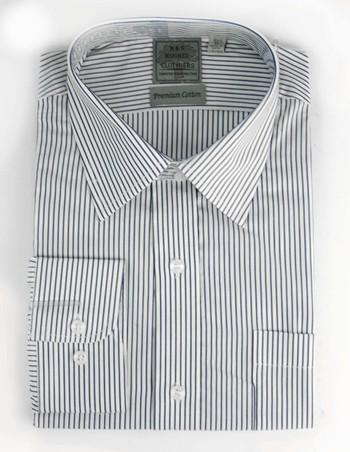 "Men's Designer Bespoke Cotton Dress Shirt - Size XXXL/17"" - $125.00 Retail"