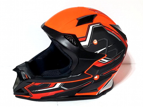 Motocross Racing Downhill Motorcycle Helmet DOT Approved Size S
