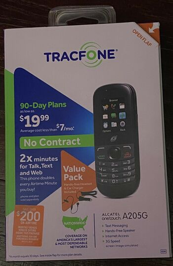 Tracfone 90 Day Plans $19.99