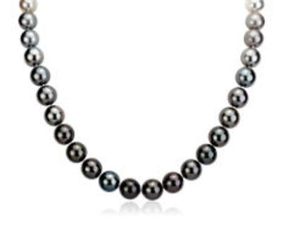 Pearls Roman Pearl Gray/Silver Necklaces 20 Pieces