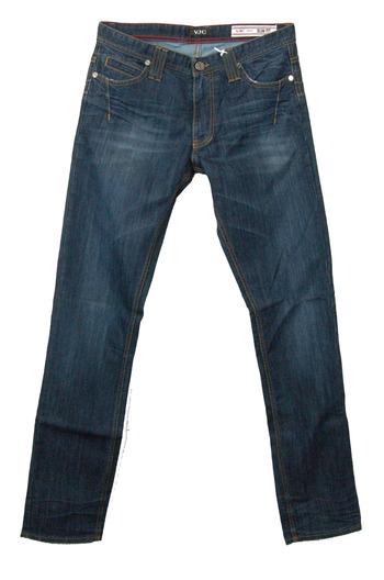 VERSACE Men's Italian Designer Slim Fit Jeans - Tag Size 33- Retail $550.00