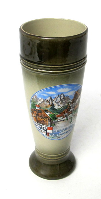 Authentic King Beer Stein without Handle-Made in W. Germany