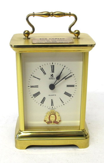Vintage Quartz Carriage Clock - Made in W.Germany