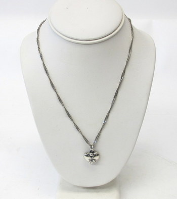 Sterling Silver Chain and Heart Pendant