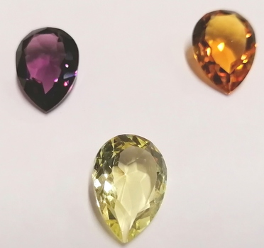 SWAROVSKI STONES - ART. 4320 18X13MM UNFOILED PEARSHAPE STONES - 144 PIECES