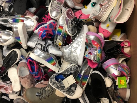 Shoes Kids Walmart Over-Stock 20 Pair