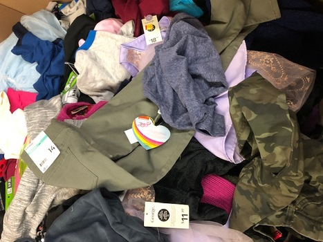 Clothing Kids Walmart Over-Stock 20 Pieces