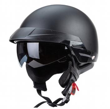 Zombies Racing ZR-816 RETRO Cruiser Helmet DOT Approved Size L
