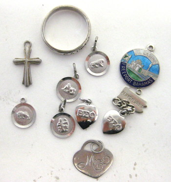 Vintage Collection of Sterling Silver Jewelry