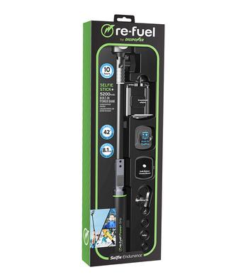 Re-fuel by Digipower Selfie Stick Built In Power Bank $65.00