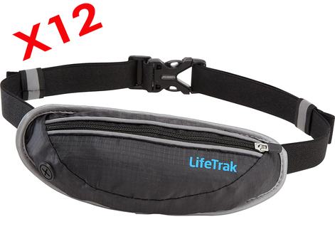 12 - LIFETRAK - HIPPACKs - Black and Pink