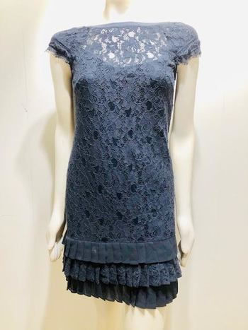 JESSICA SIMPSON Lace Party Dress with Ruffled  Size 4 Retail $169