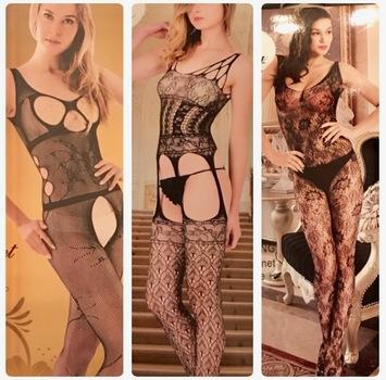 Women's Fishnet Net Pattern Jacquard Full Body Pantyhose Tights Stockings Leggings 3 Pack