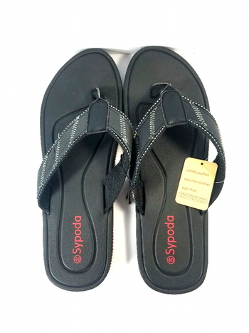 NWT Sypoda Mens Flip Flops Slip On Sandals Size 15