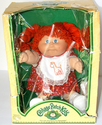 Collectible Cabbage Patch Doll With Birth and Adoption Certificate