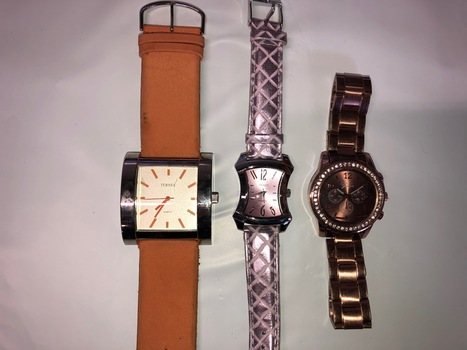 3 Assorted Watches