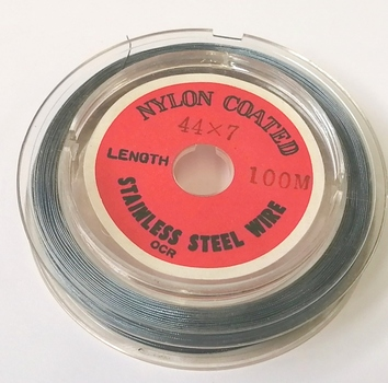 NYLON COATED STAINLESS STEEL WIRE - 1 SPOOL