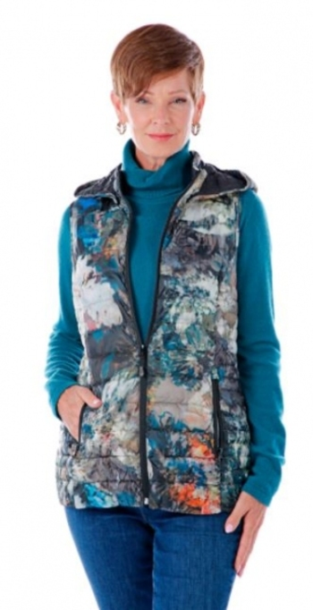 Arctic Expedition Ladies Lynn Puffer Vest, Size: Small, Colour: Multi, Retail: $77.00 CAD