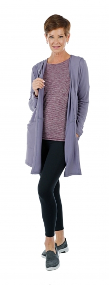 Skechers Apparel Restful Hoodigan, Size: Small, Colour: Mauve, Retail: $80.00 CAD