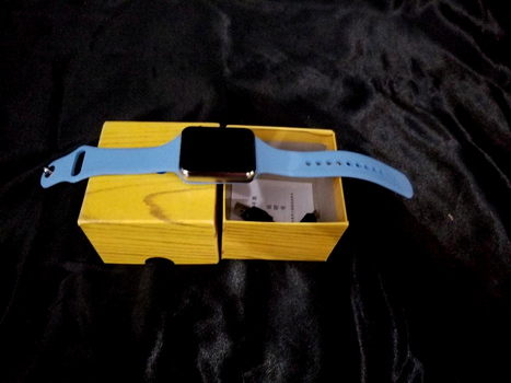 Smart Watch Square Blue New Open Box