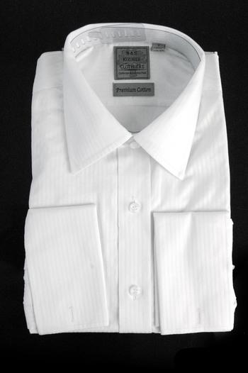 "Men's Designer Bespoke Cotton Dress Shirt - Size XXXL-17 1/2"" - $125.00 Retail"