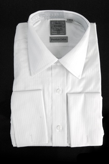 "Men's Designer Bespoke Cotton Dress Shirt - Size S-15"" - $125.00 Retail"