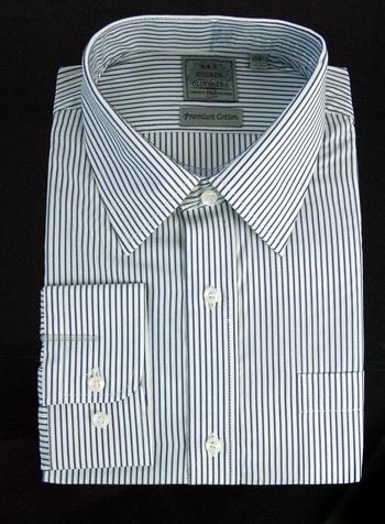 "Men's Designer Bespoke Cotton Dress Shirt - Size XS-14 1/2"" - $125.00 Retail"