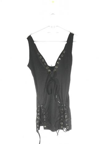 Black Ladies Dress L