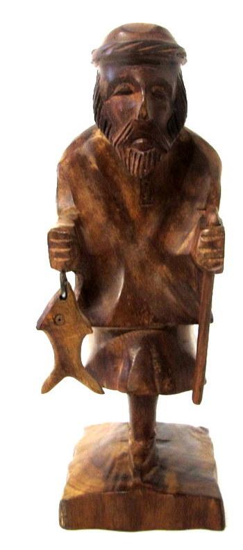 Vintage Wood Figurine