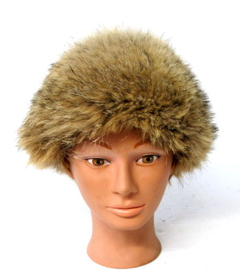 Vintage Women's Coyote Fur Hat