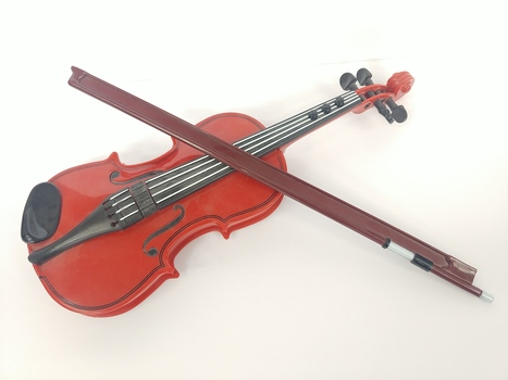 Vintage Electronic Toy Violin