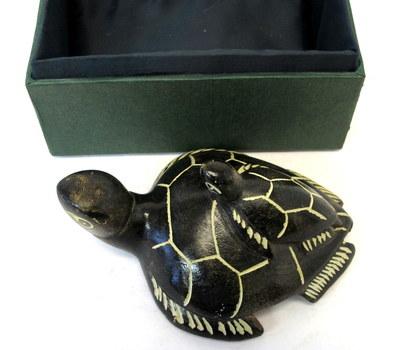 Vintage Turtle Soapstone Carving