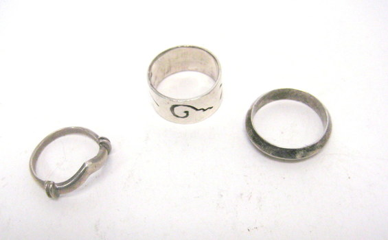 Vintage Collection of Sterling Rings