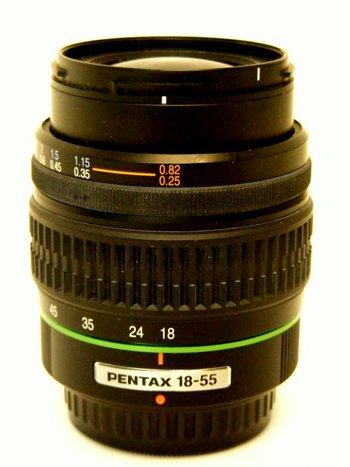 smc Pentax - DA 18-55mm Lens