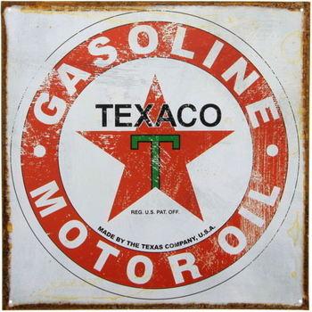 Vintage Looking Texaco Metal Sign