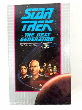 New VHS Sealed Star Trek The Next Generation The Collector's Edition - Power Play